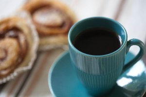 Kaffe och bulle