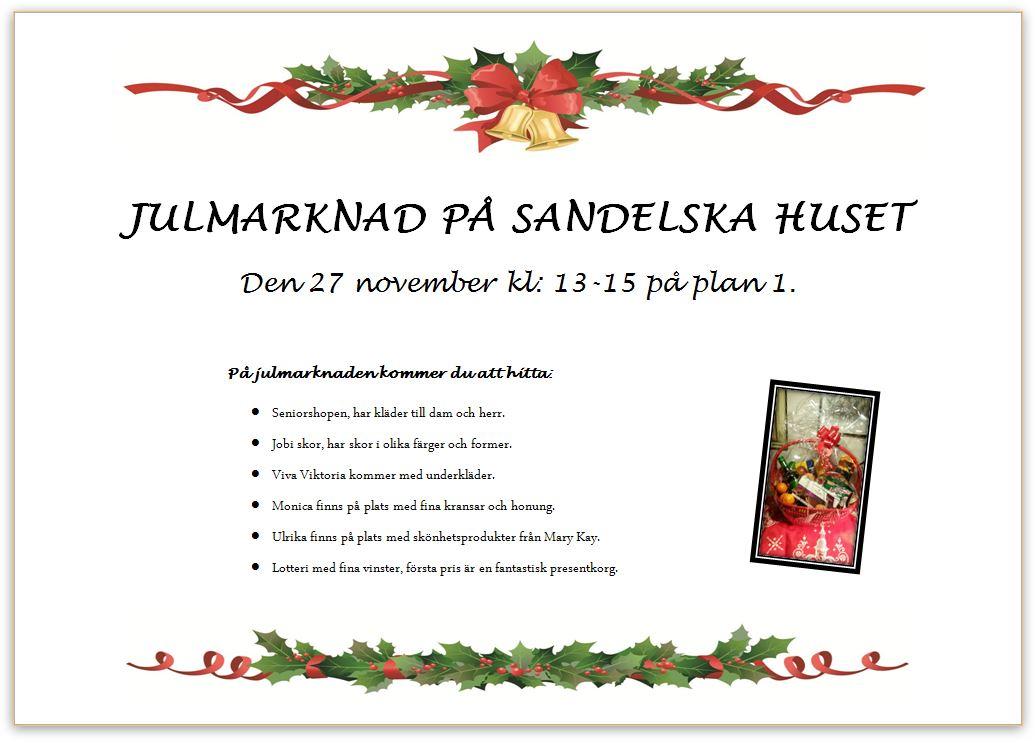 julmarknad affisch