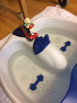 fotbad farfar